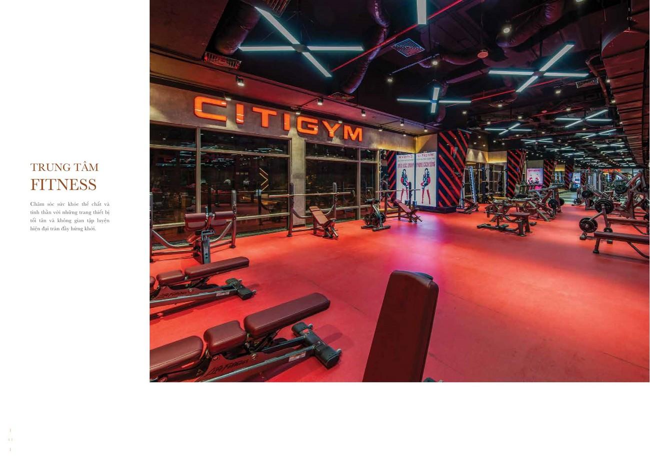 CityGym - Tiện ích đẳng cấp sang trọng của dự án Grand Manhattan quận 1 nhà phát triển Novaland