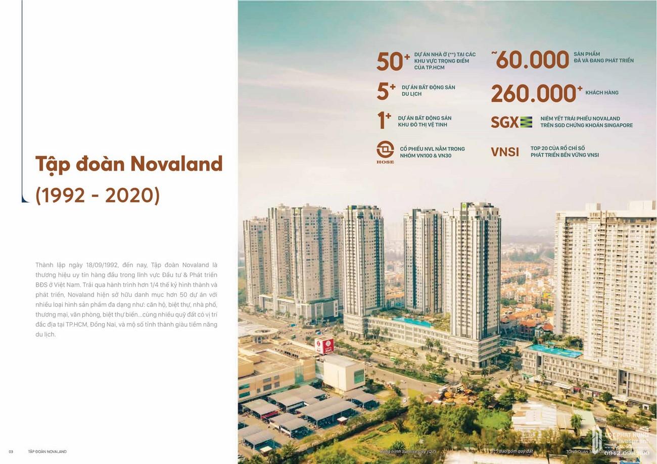 Thành tựu đạt được của Tập đoàn Novaland