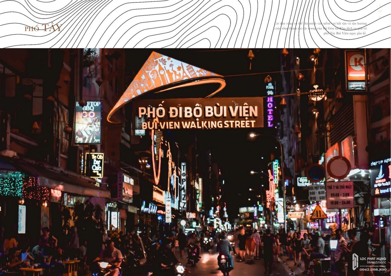 Phố đi bộ Bùi Viện - khu phố sầm uất nhất TP. Hồ Chí Minh