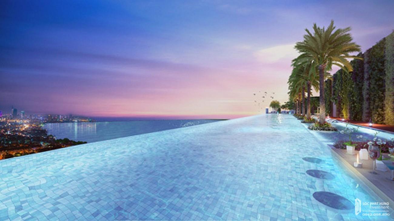 Tiện ích hồ bơi vô cực của dự án Stella En Tropic Võ Văn Kiệt