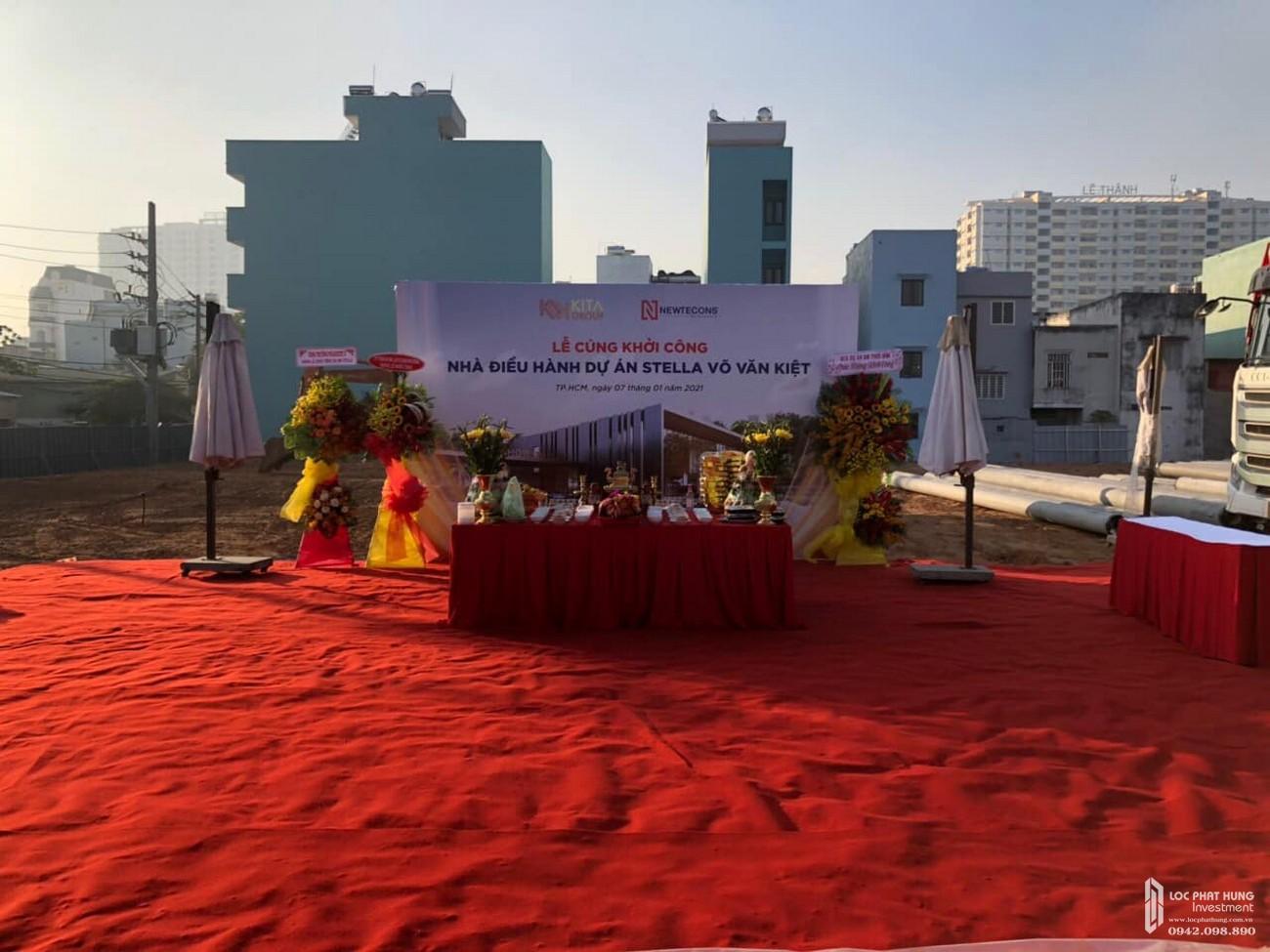Lễ cúng dự án nhà điều hành Stella En Tropic Võ Văn Kiệt
