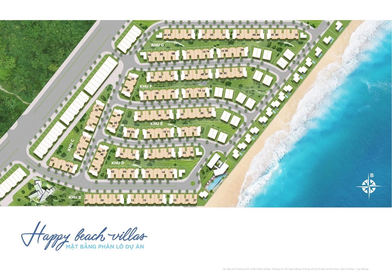 Phân kỳ Happy Beach Villas