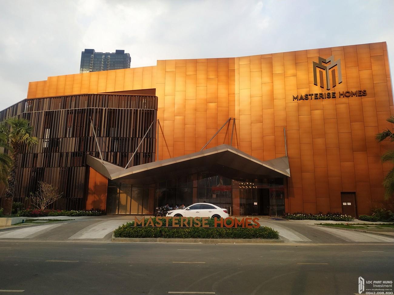 Nhà mẫu Grand Marina Saigon sắp được hoàn thiện