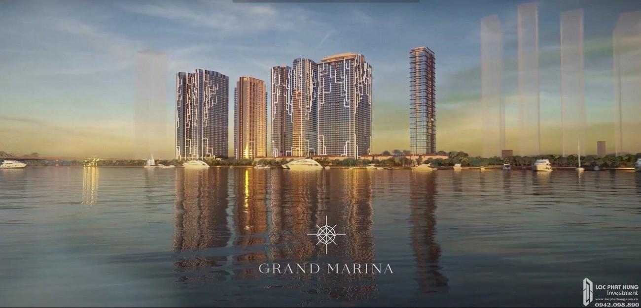 Phối cảnh dự án căn hộ chung cư Grand Marina Saigon Quận 1 Đường Nguyễn Hữu Cảnh chủ đầu tư Masterise Homes