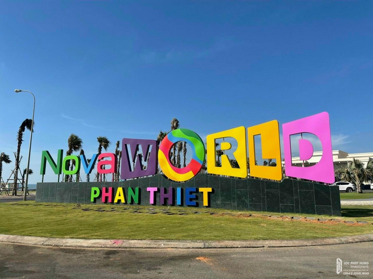 TIến độ thực tế khu siêu dự án biển Novaworld Phan Thiết