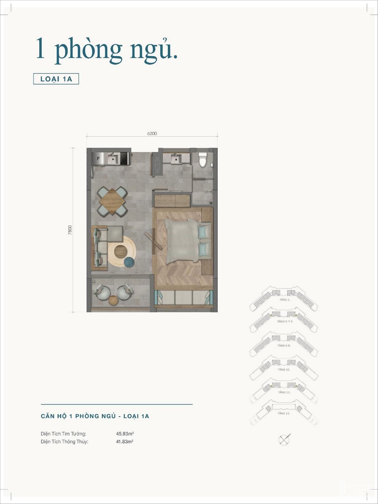 Thiết kế dự án biệt thự biển chung cư Ixora Hồ Tràm By Fusion Xuyên Mộc Đường Phước Thuận & Bông Trang chủ đầu tư HTP