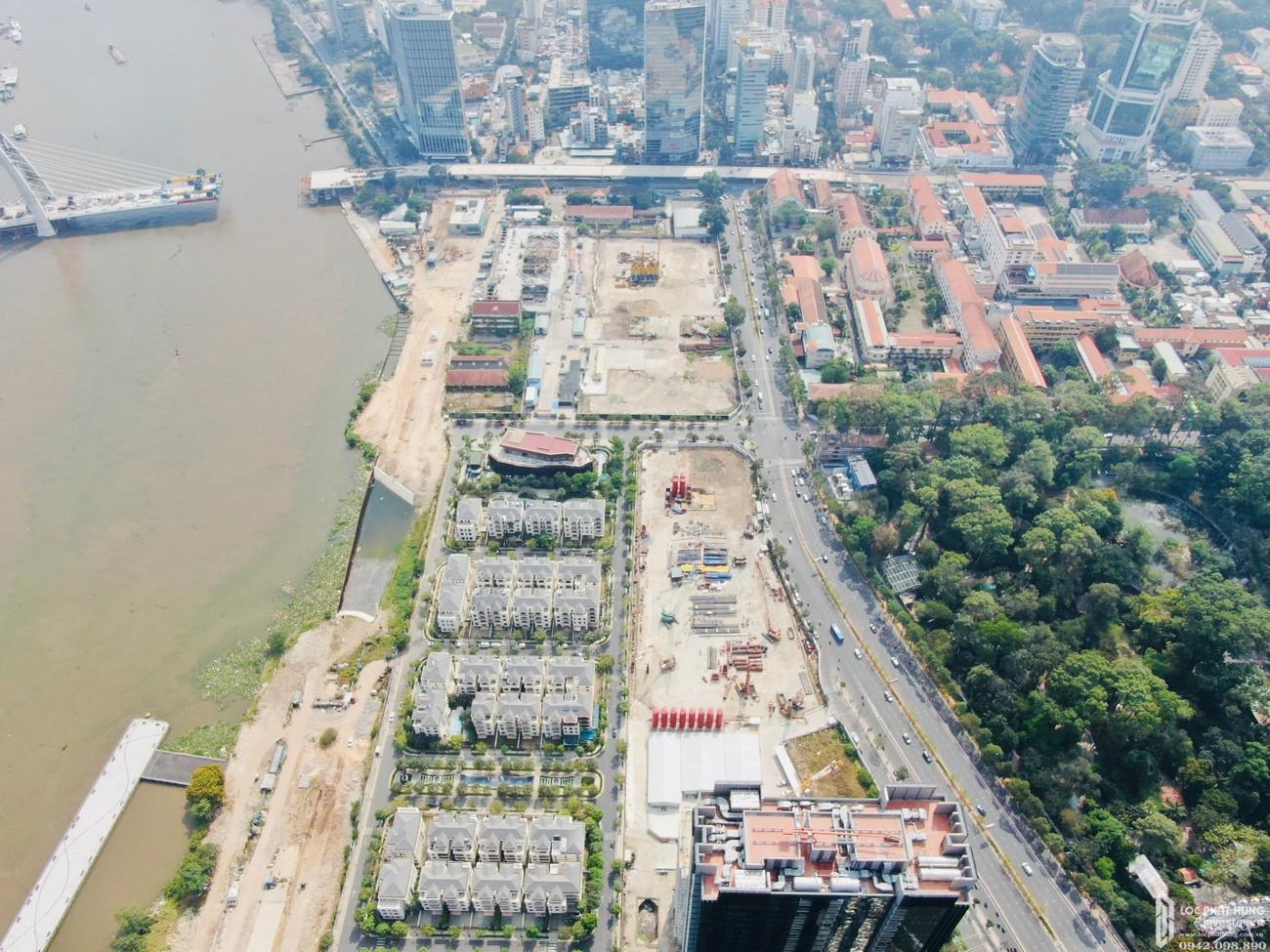 Dự án Grand Marina Saigon với tiến độ xây dựng vô cùng ổn định