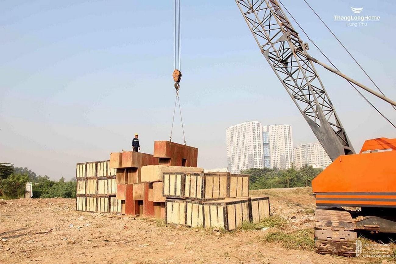 Tiến độ dự án căn hộ chung cư Dragon Sky View Thủ Đức Đường Tô Ngọc Vân chủ đầu tư Hưng Phú Investment