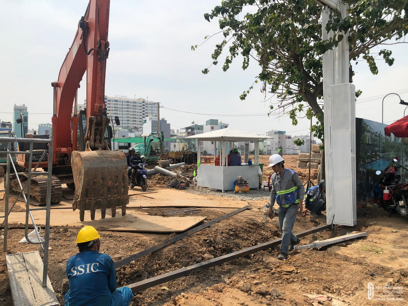 Tiến độ xây dựng tháng 02/2021