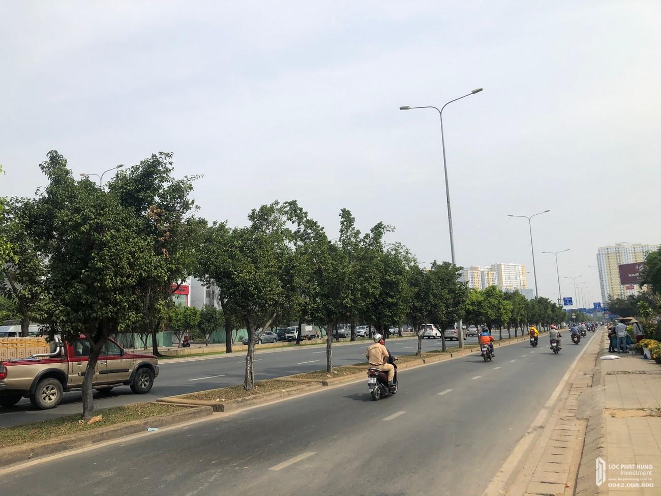 Hình ảnh thực tế mặt tiền Đại lộ Võ Văn Kiệt dự án Stella En Tropic