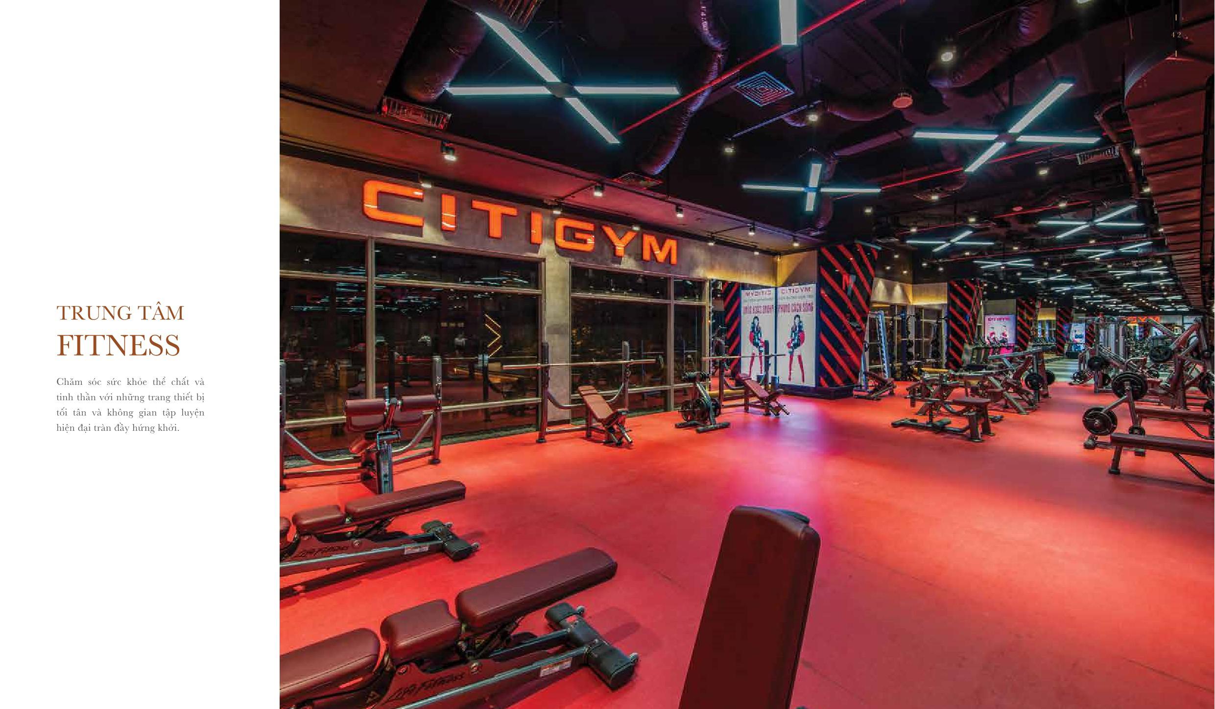 Trung tâm Fitness dự án The Grand Manhattan quận 1