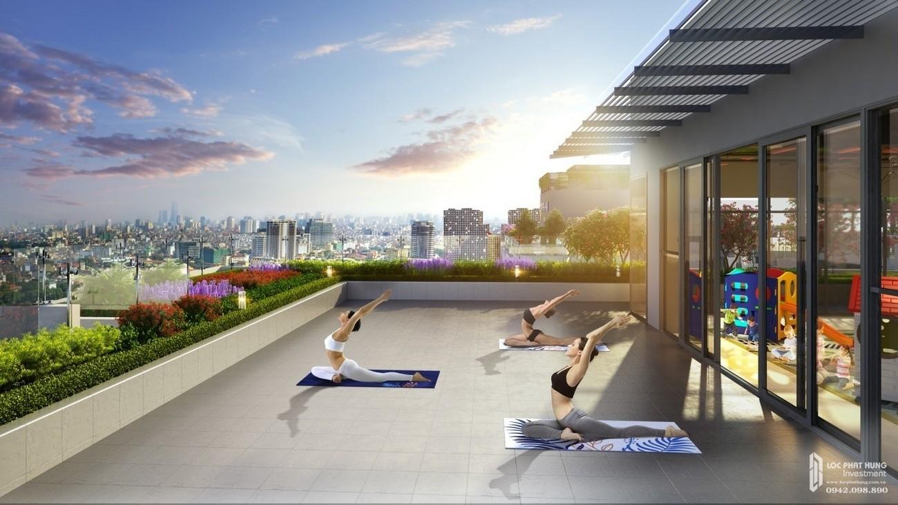 Tiện ích Yoga tập thể thao của dự án Stella En Tropic Võ Văn Kiệt