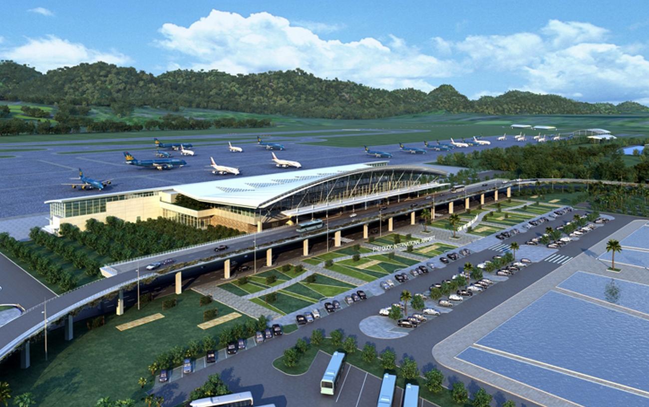 Ảnh sân bay Phú Quốc