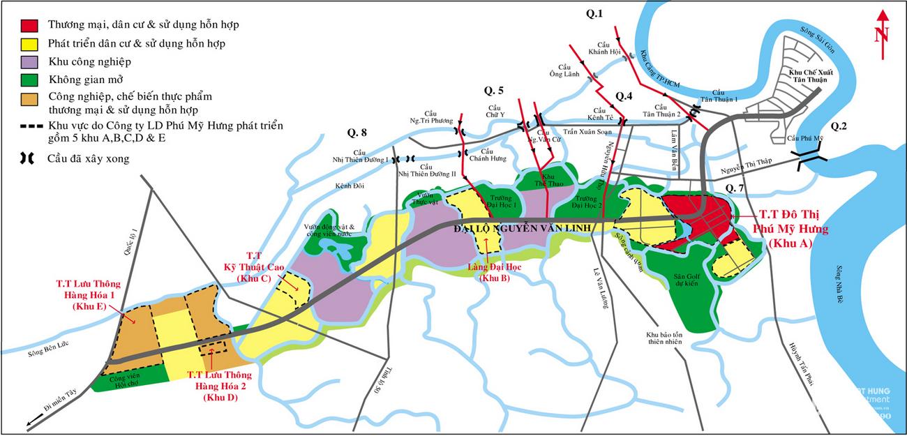 Bất động sản Nam Sài Gòn: Tiềm năng tăng trưởng trong năm 2021