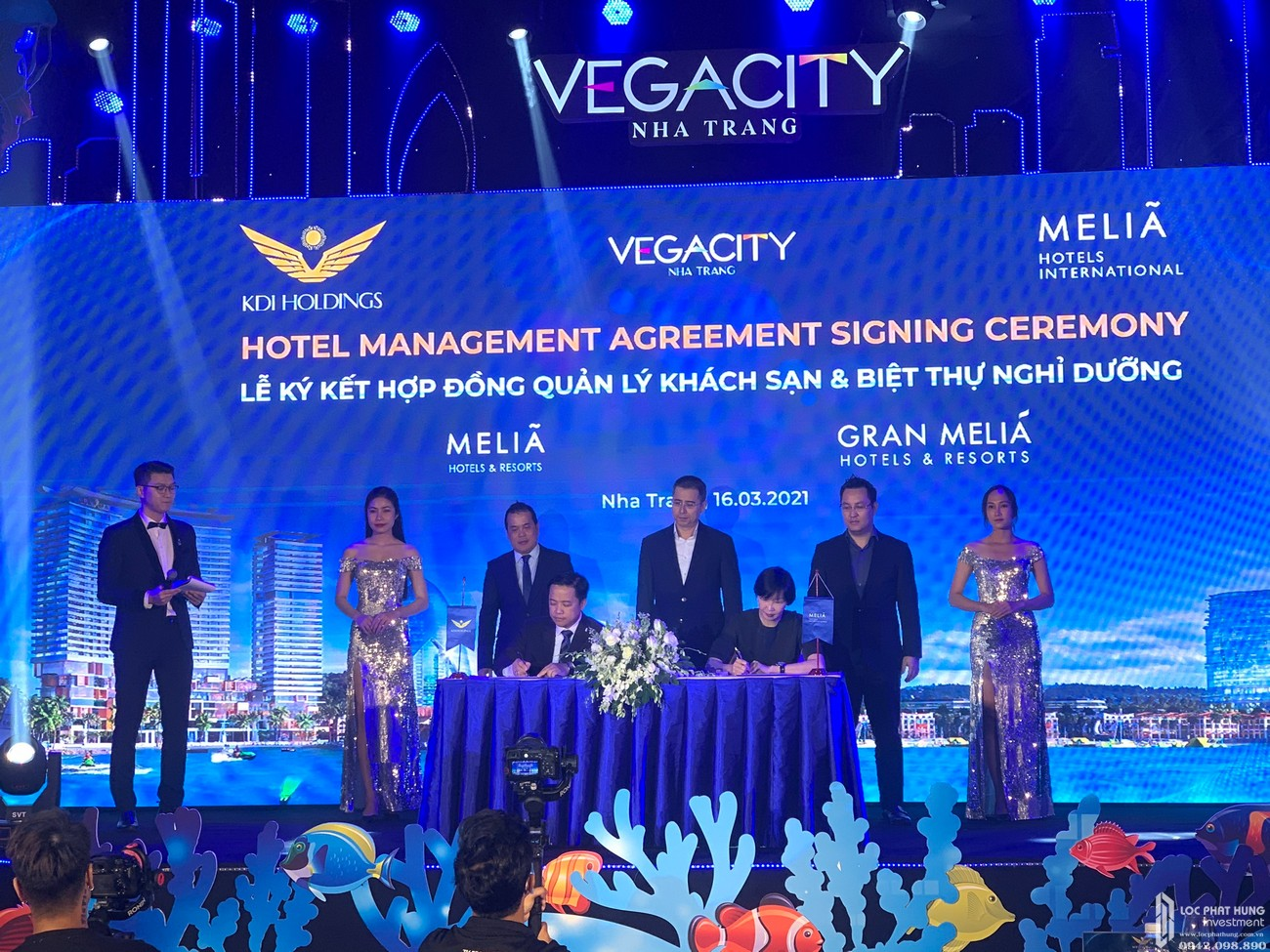 Vega City ký kết hợp đồng quản lý khách sạn & Biệt thự Nghỉ Dưỡng với Gran Meliá & Meliá Nha Trang