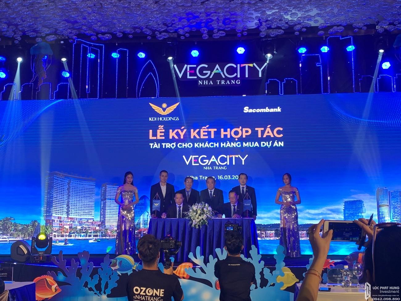 Đơn vị tài chính của Vega City - Ngân hàng Sacombank