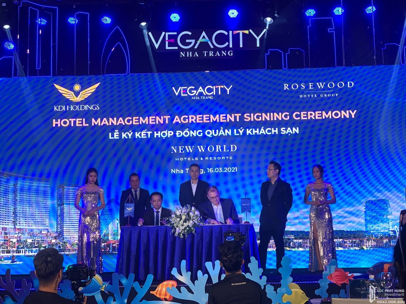 Vega City ký kết hợp đồng quản lý khách sạn với Rosewood Hotel Group