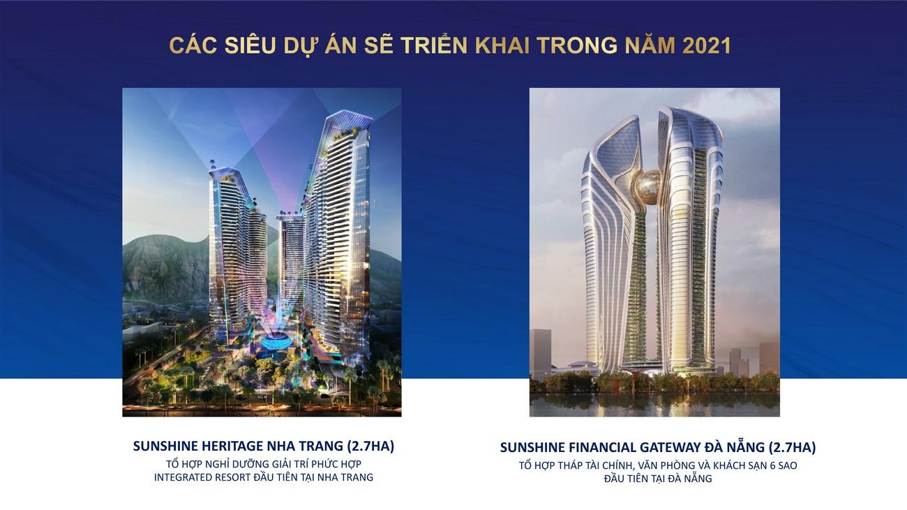 Sunshine Group và các siêu dự án sắp triển khai 2021