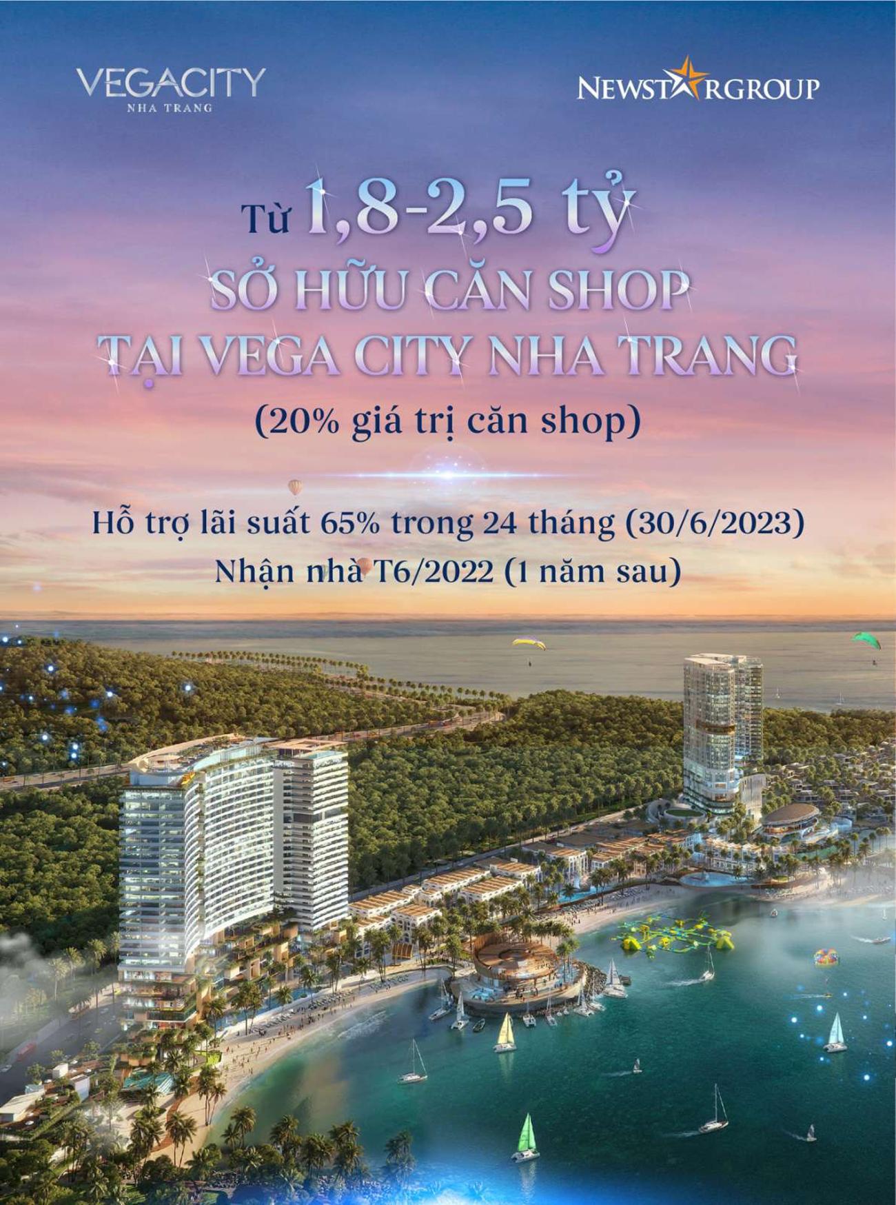 Cập nhật phương thức thanh toán – Giá bán Vega City Nha Trang giai đoạn 1