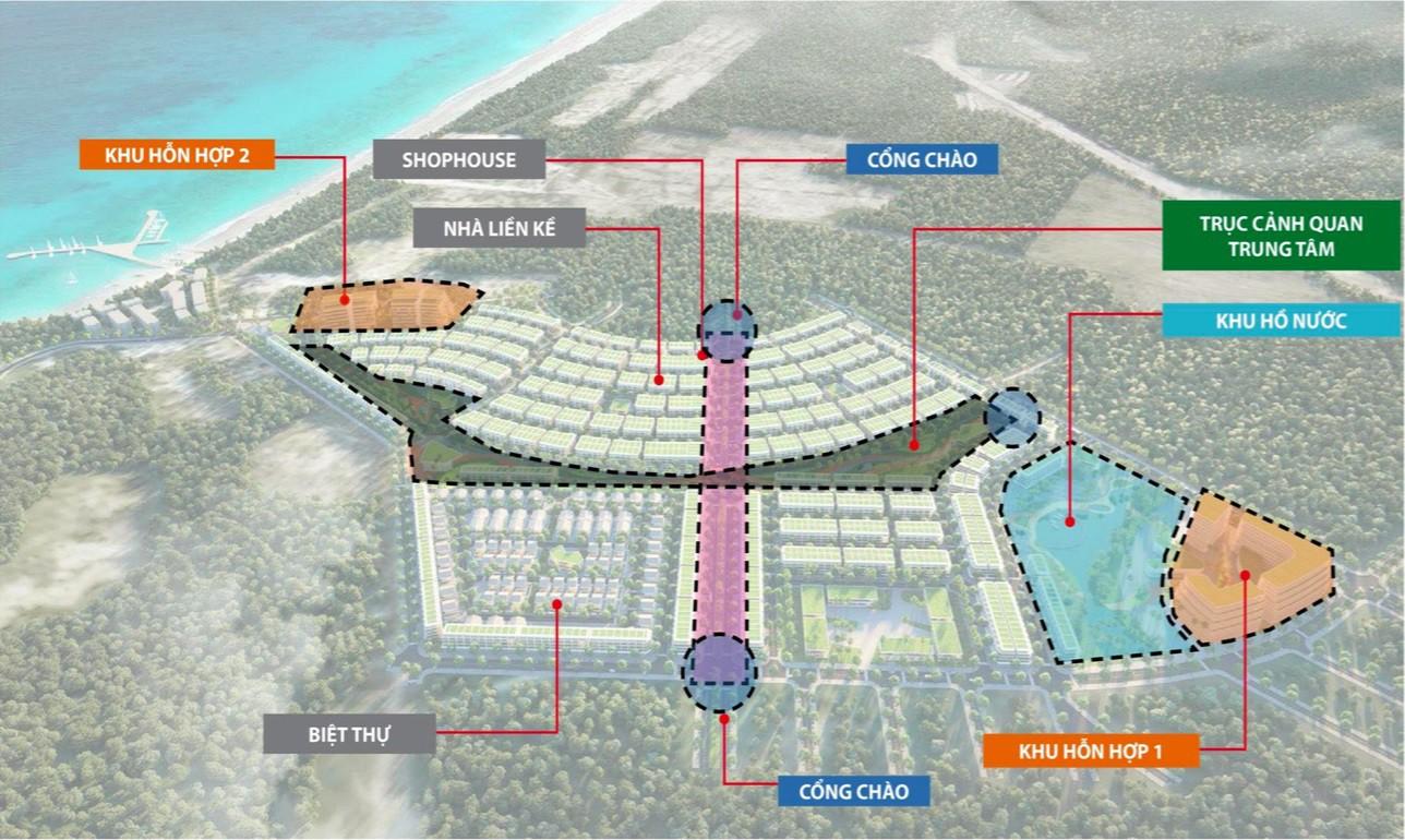 Tiện ích dự án nhà phố Meyhomes Capital Phu Quoc phu quoc Đường Trần Hưng Đạo chủ đầu tư Tân Á Đại Thành