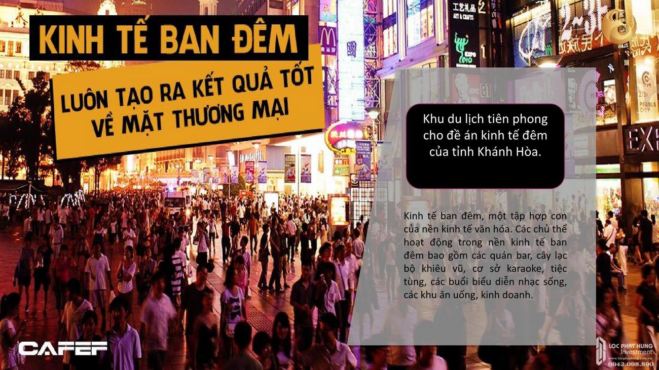 Kinh tế đêm dự án Vega City Bãi Tiên Nha Trang chủ đầu tư KDI Holdings