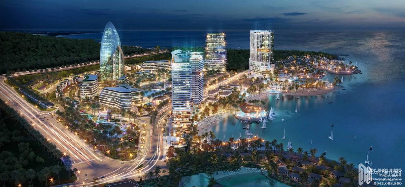 Kinh tế đêm dự án Vega City Bãi Tiên Nha Trang chủ đầu tư KDI Holdings thành phố ánh sáng
