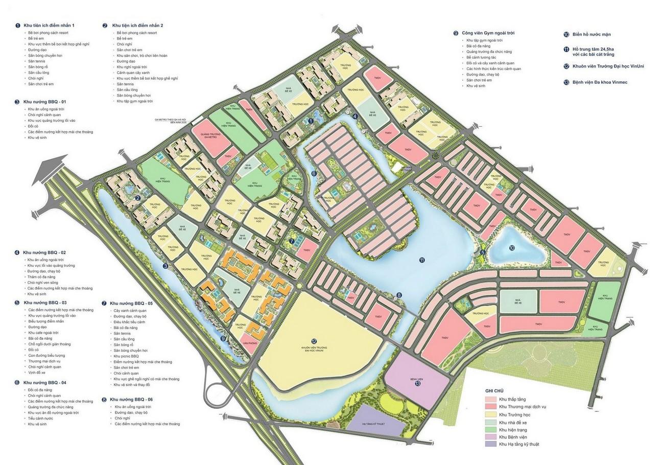 Mặt bằng dự án căn hộ chung cư Vinhomes Đức Hòa  chủ đầu tư Vingroup