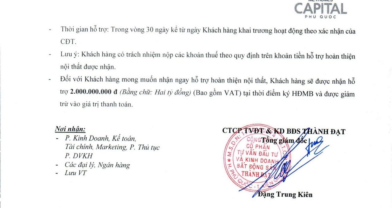 Pháp lý dự án nhà phố Meyhomes Capital Phú Quốc Đường Trần Hưng Đạo chủ đầu tư Tân Á Đại Thành