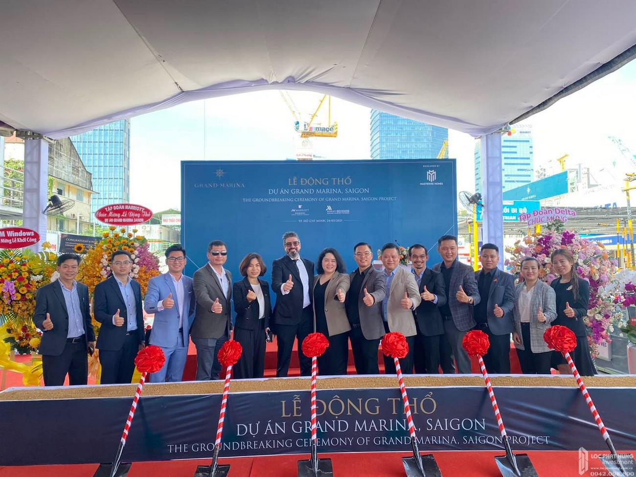 Lễ khởi công Grand Marina Saigon