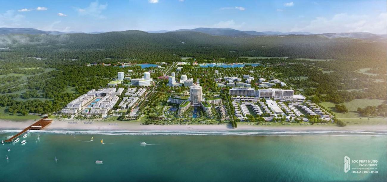Mua bán cho thuê dự án nhà phố Marina Square huyện Phú Quốc Đường Bãi Trường, xã Dương Tơ chủ đầu tư BIM Group