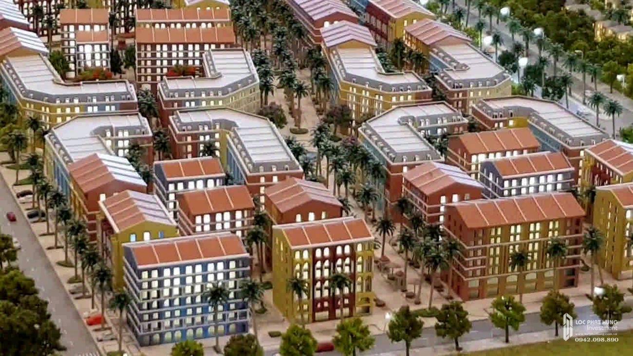 Thiết kế dự án nhà phố Marina Square huyện Phú Quốc Đường Bãi Trường, xã Dương Tơ chủ đầu tư BIM Group