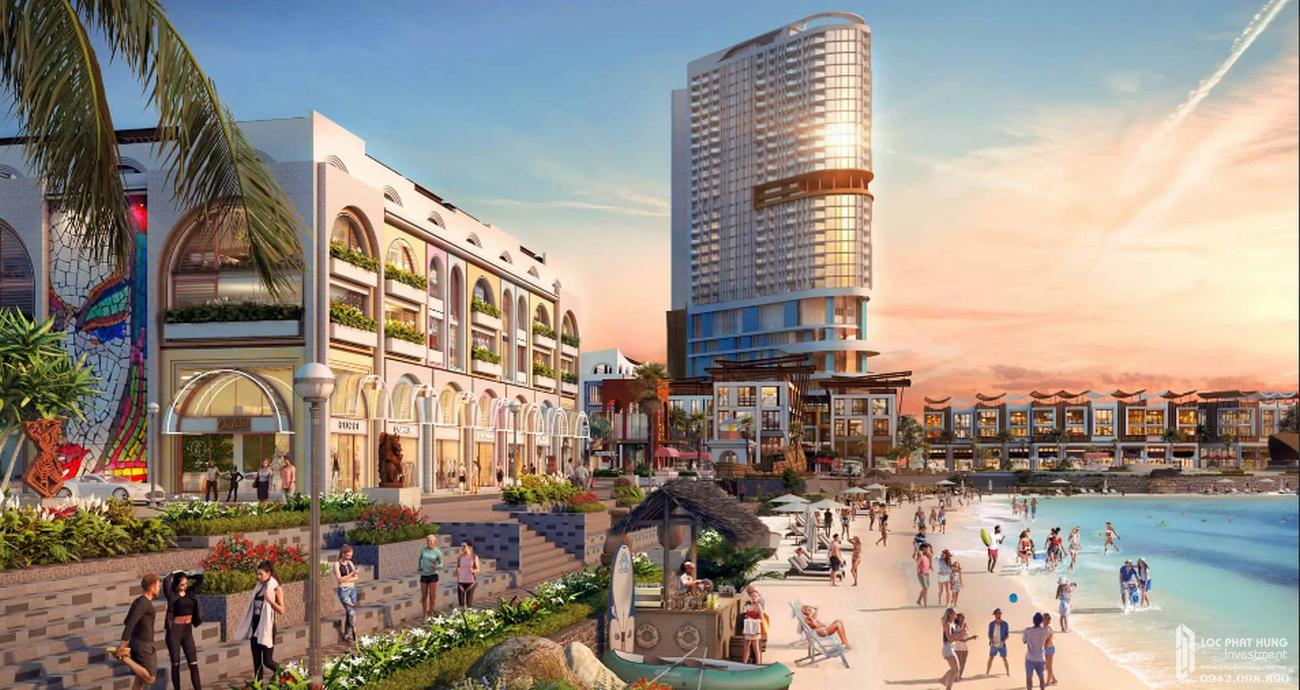 Nhà mẫu dự án Biệt thự, nhà phố Vega City Bãi Tiên Nha Trang chủ đầu tư KDI Holdings