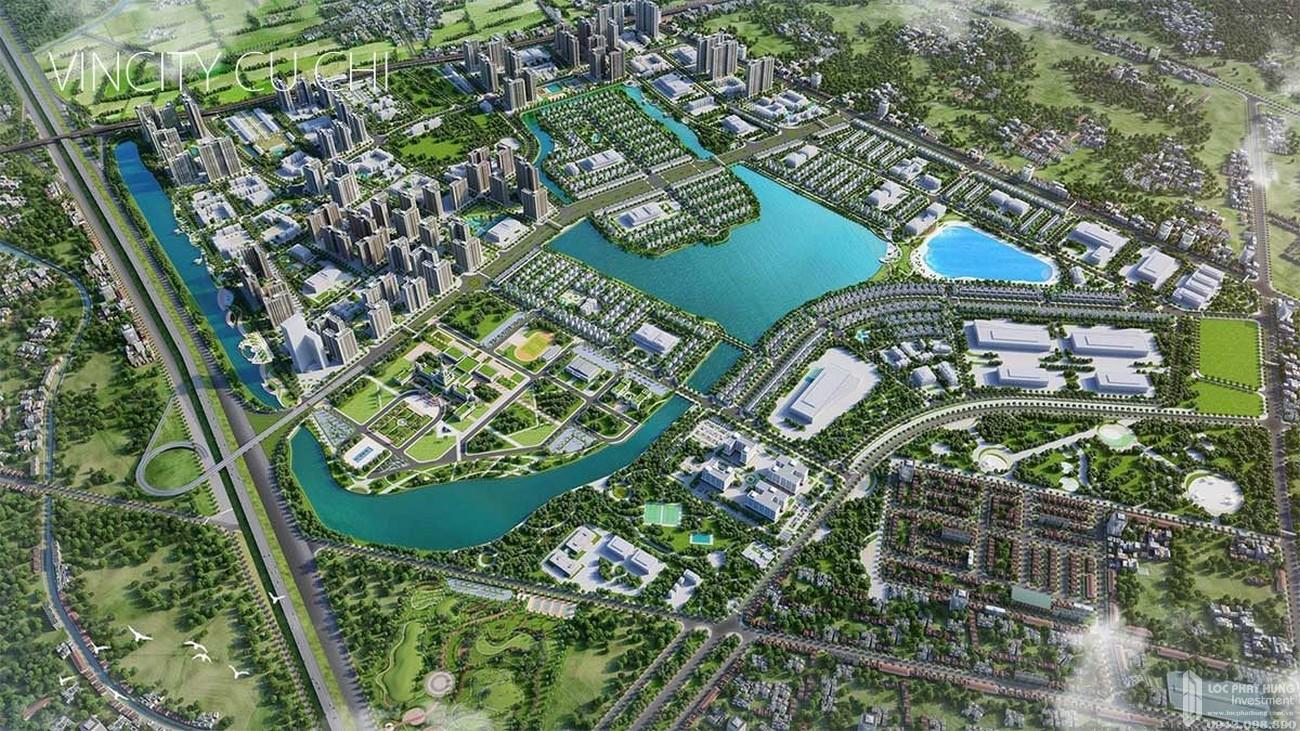 Phối cảnh tổng thể dự án căn hộ chung cư Vinhomes Củ Chi HCM chủ đầu tư Vingroup