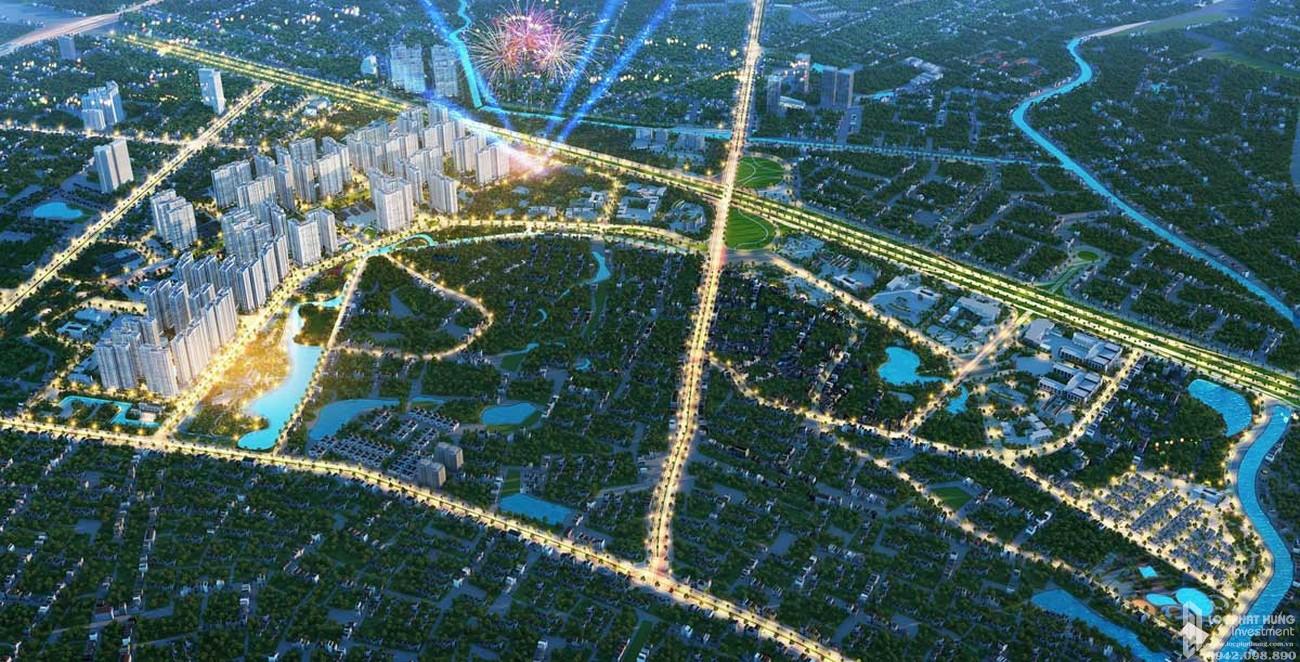 Phối cảnh tổng thể dự án căn hộ chung cư Vinhomes Hóc Môn   chủ đầu tư Vingroup