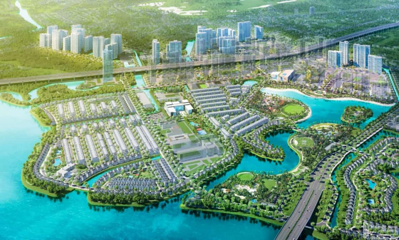 Phối cảnh tổng thể dự án căn hộ chung cư The Beverly Quận 9 chủ đầu tư Vingroup
