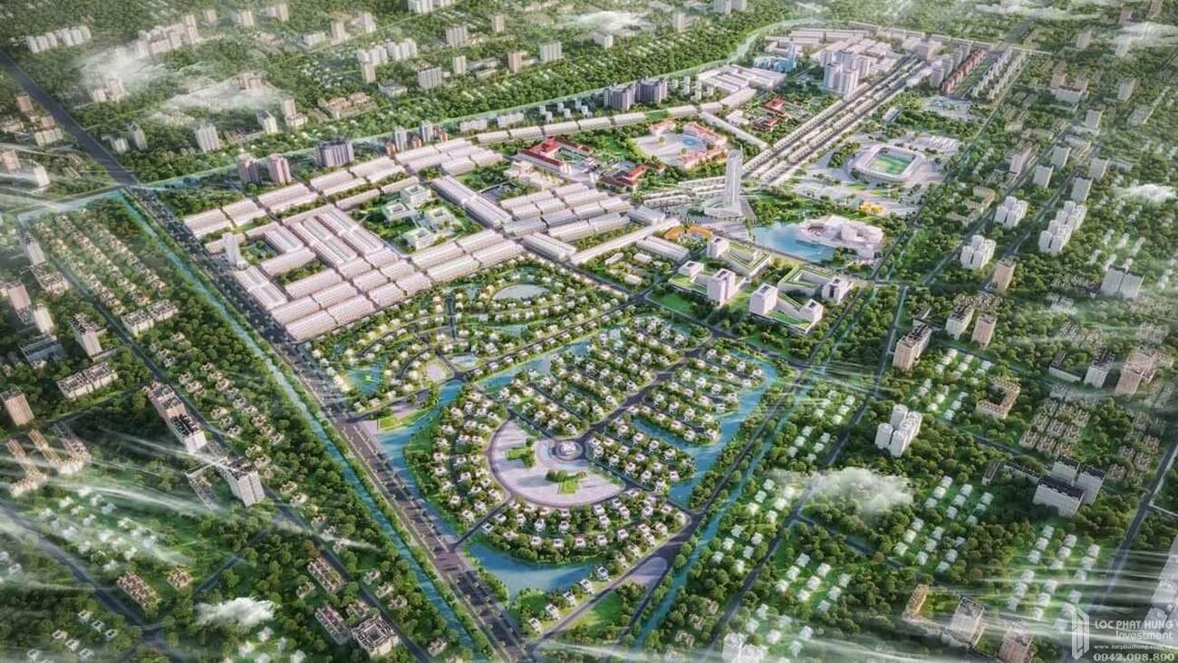 Phối cảnh tổng thể dự án căn hộ chung cư Vinhomes Đức Hòa  chủ đầu tư Vingroup