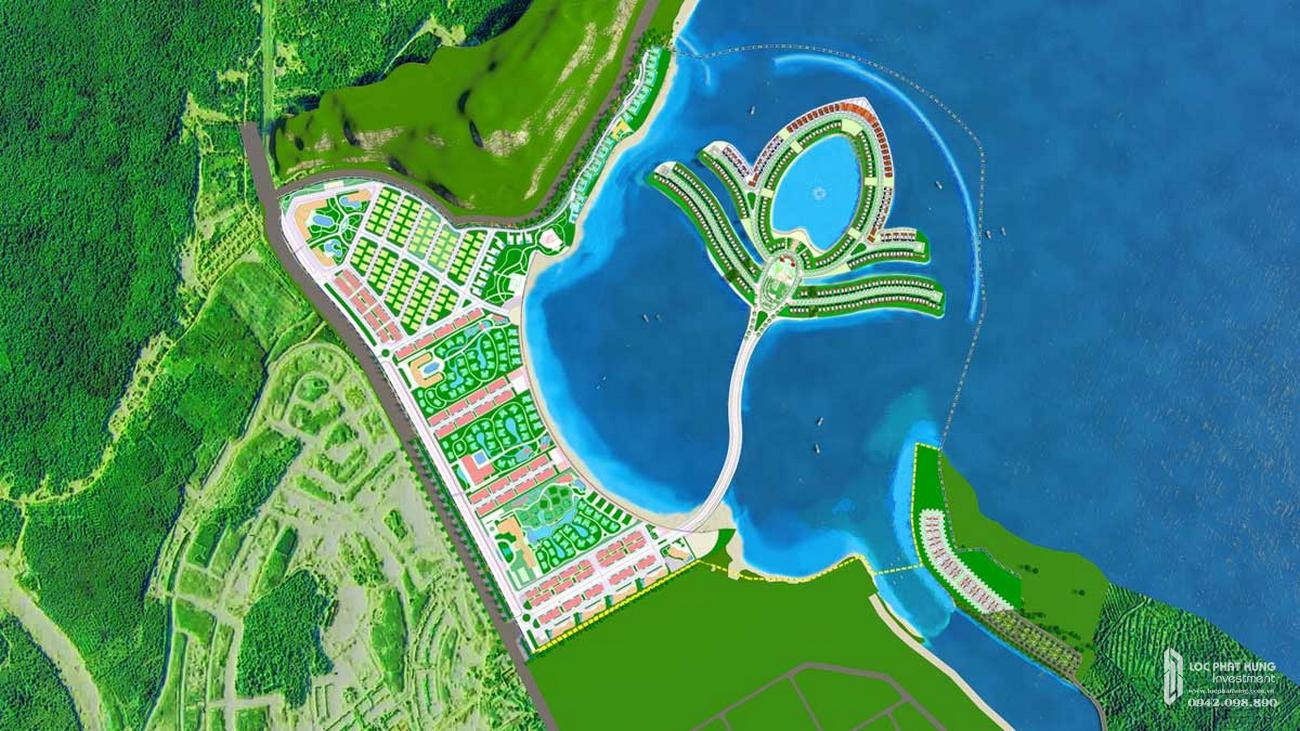Phối cảnh tổng thể dự án Shophouse Selavia Bay Phú Quốc Phú Quốc Đường Dương Tơ chủ đầu tư TTC Phú Quốc