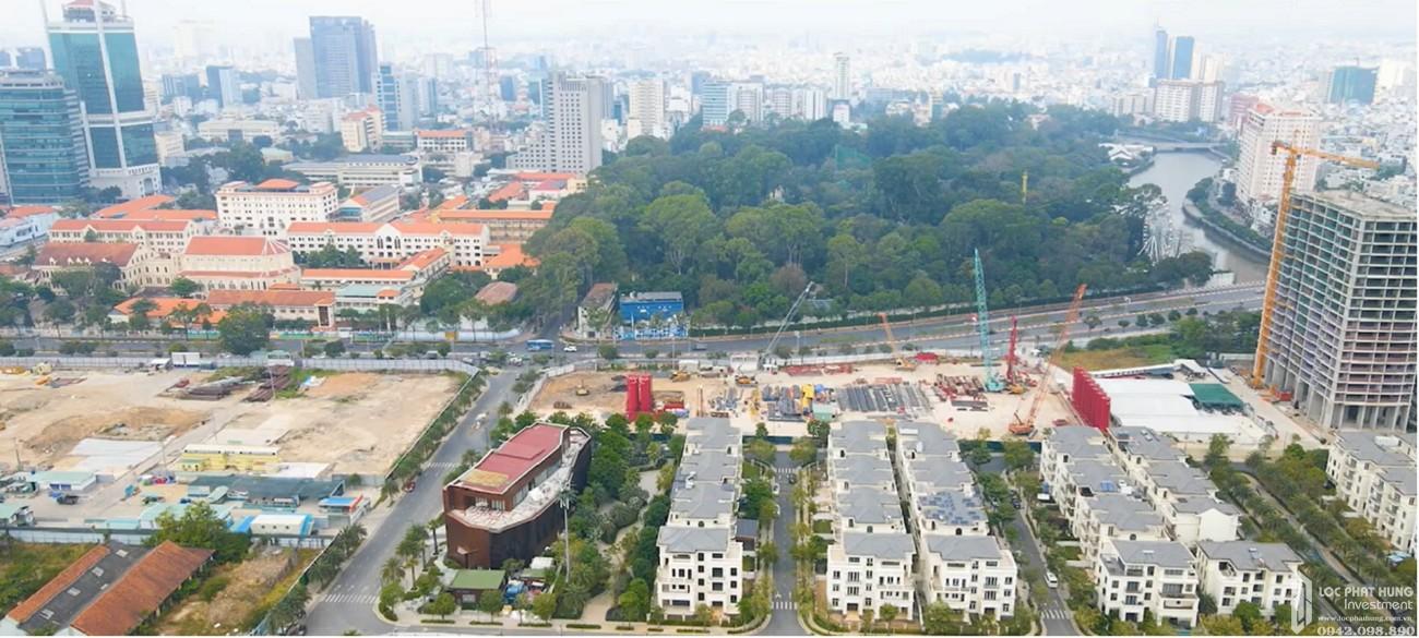 Tiến độ dự án căn hộ chung cư Grand Marina Saigon Quận 1 Đường Nguyễn Hữu Cảnh chủ đầu tư Masterise Homes