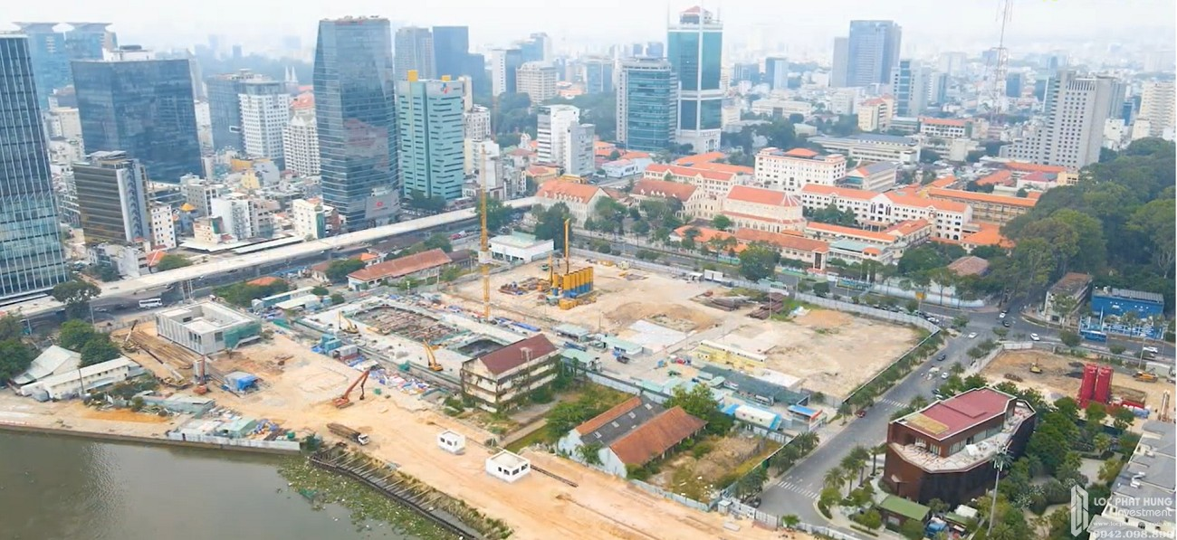 Tiến độ Grand Marina Saigon mới nhất tháng 3/2021