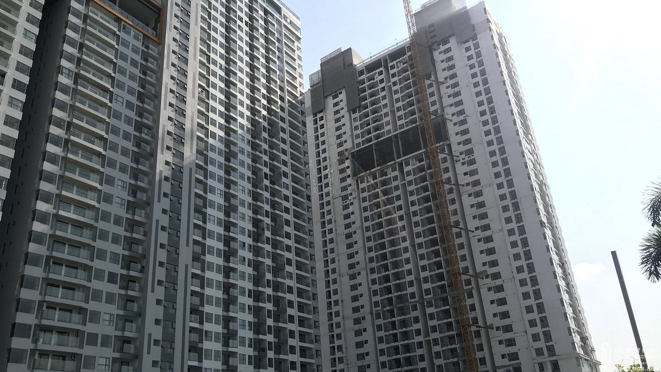 Tiến độ dự án căn hộ chung cư Sky 89 Quận 7 Đường Hoàng Quốc Việt chủ đầu tư An Gia Investment tháng 3/2021