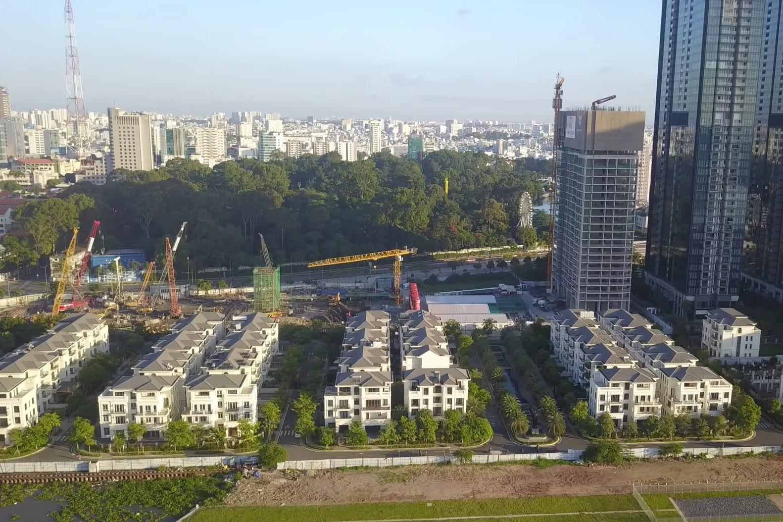 Tiến độ dự án Grand Marina Saigon Quận 1