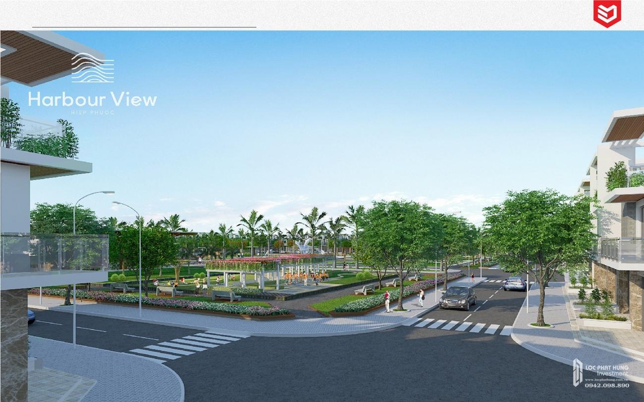 Tiện ích dự án đất nền  Hiệp Phước Harbour View Can Giuoc Đường Nguyễn Văn Tạo chủ đầu tư Thuận Thành