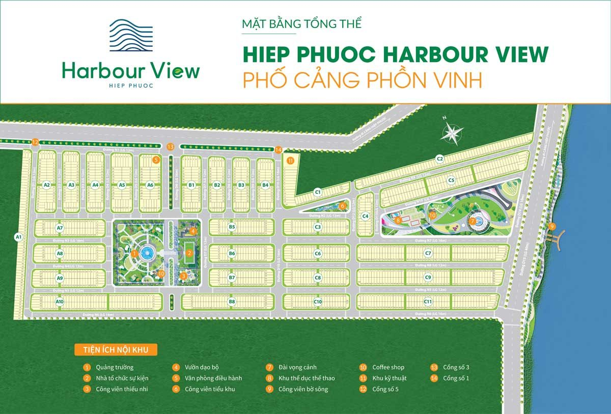 Cập nhật bảng giá Hiệp Phước Harbour View | Giá Bán Mới Nhất【03/2021】Từ Chủ Đầu Tư Thuận Thành 2021 8