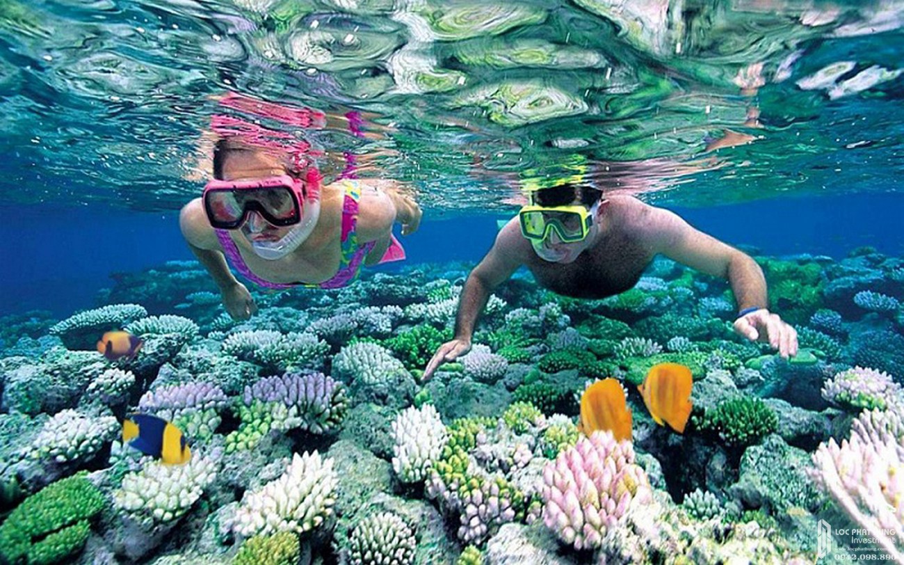 Công viên san hô Vạn San Đảo Vega City Nha Trang