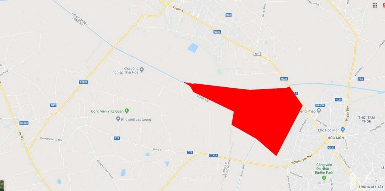 Vị trí địa chỉ dự án căn hộ chung cư Vinhomes Hóc Môn   chủ đầu tư Vingroup
