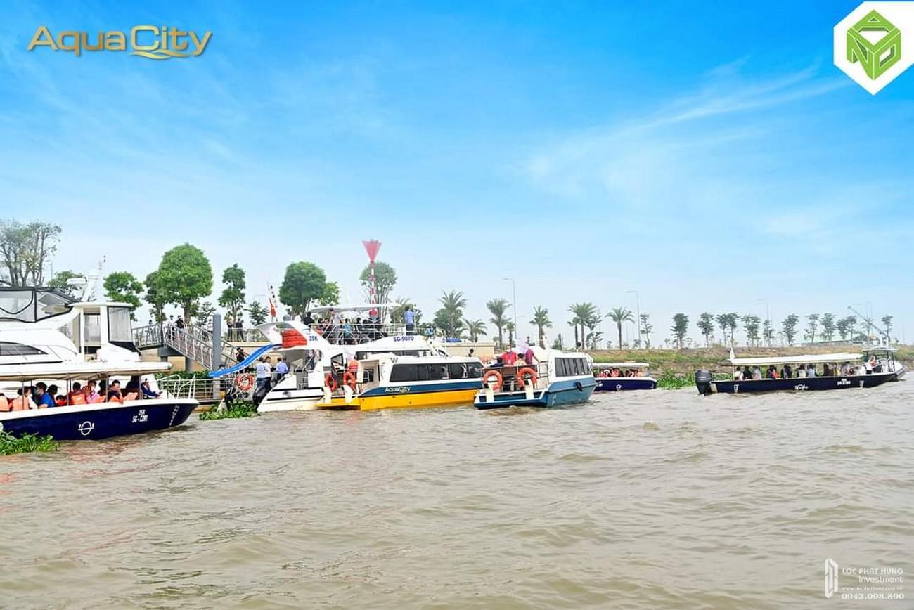 Trải nghiệm du thuyền Aqua City