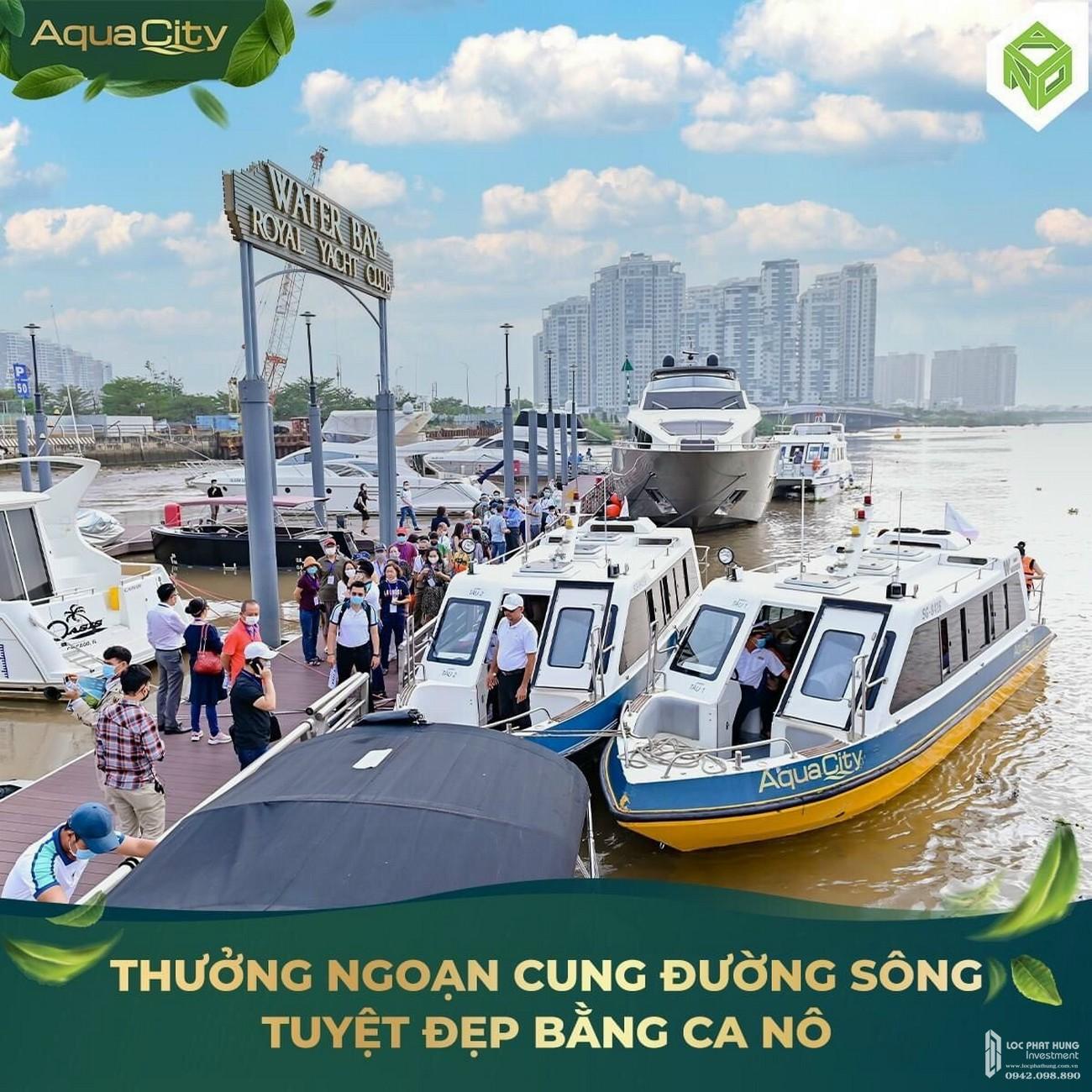 Tận Hưởng Con Đường Sông Tuyệt Đẹp Đến Aqua City Từ Sài Gòn