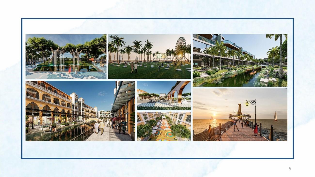 Tiện ích dự án Khu đô thị nghỉ dưỡng Venezia Beach Hàm Tân Thắng Hải