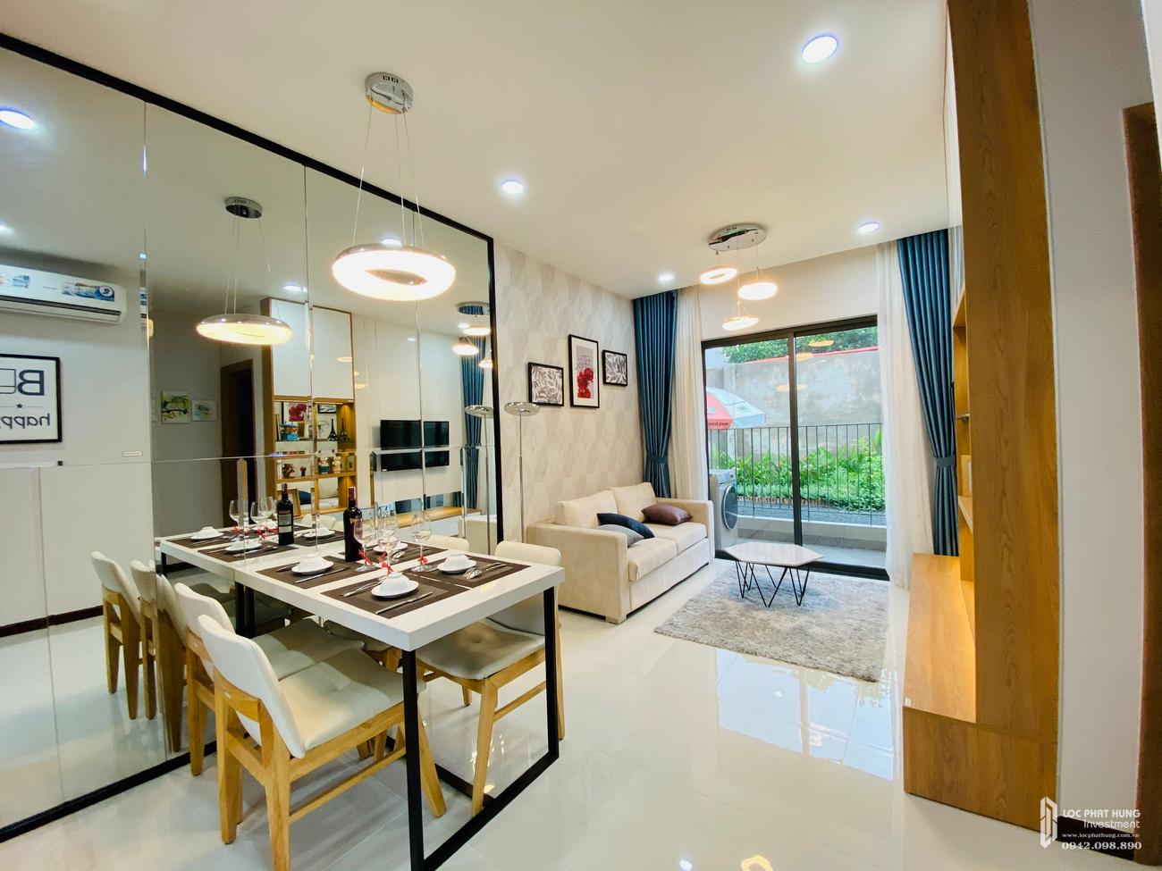 Nhà mẫu dự án căn hộ chung cư Bcons Sala Dĩ An Đường Thống Nhất chủ đầu tư Bcons
