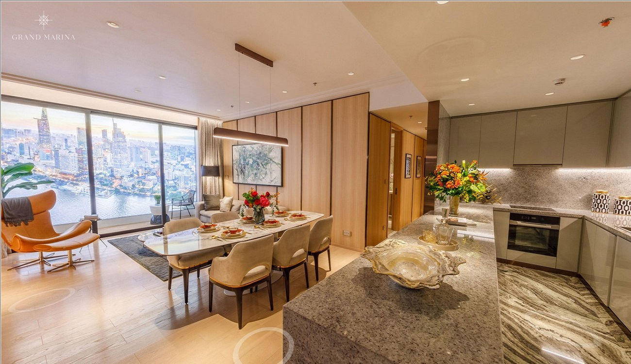 Nhà mẫu dự án căn hộ chung cư Grand Marina Saigon Quận 1 Đường Nguyễn Hữu Cảnh chủ đầu tư Masterise Homes